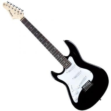 Guitarra Canhoto Strinberg Stratocaster EGS216 BK