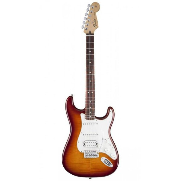 Guitarra Fender Standard Stratocaster Top Plus HSS RW Tobacco S.