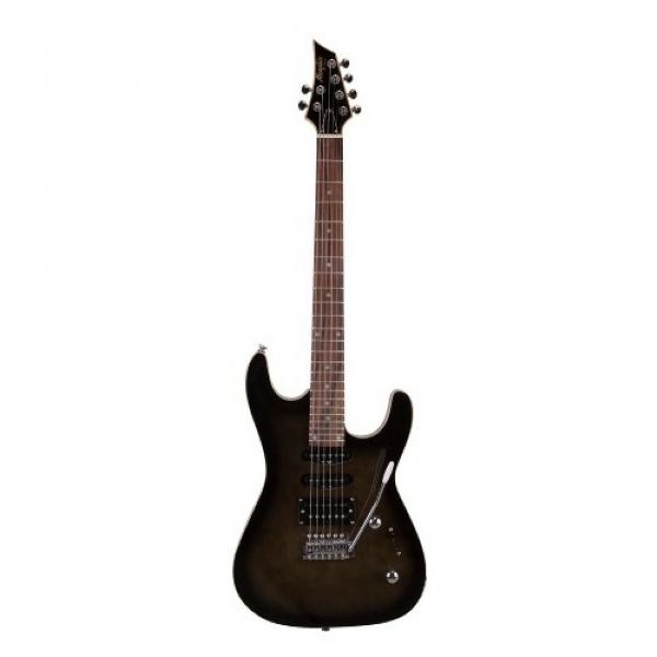 Guitarra Memphis Stratocaster MG230 BK Transparente