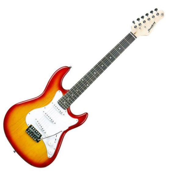 Guitarra Strinberg Stratocaster EGS216 CS Amarelo Sunburst