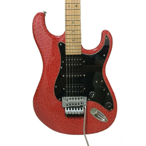 Guitarra Tagima Stratocaster JA2 Special Juninho Afram Craquelada Red