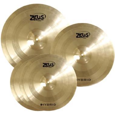 Kit de Pratos Zeus Hybrid B20 Set C
