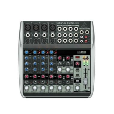 Mesa de Som 12 Canais Behringer Xenyx Q1202 USB