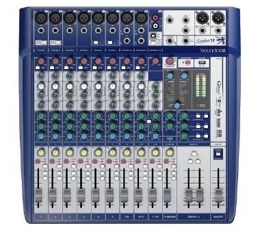 Mesa de Som 12 Canais Soundcraft Signature 12