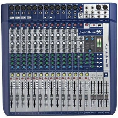 Mesa de Som 16 Canais Soundcraft Signature 16