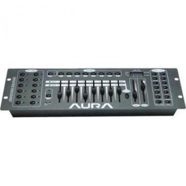Mesa Controladora Iluminação Aura CH192 DMX Bivolt
