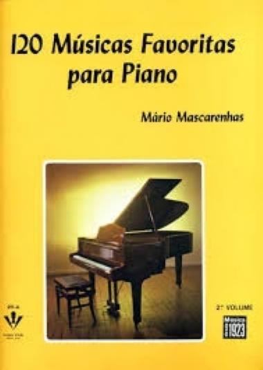 Método 120 Músicas Favoritas para Piano - Vol 2