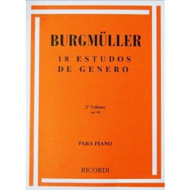 Método 18 Estudos de Gênero Burgmuller - Vol 2 OP109