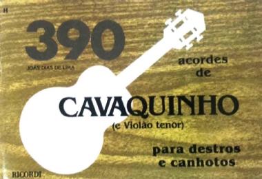 Método 390 Acordes de Cavaquinho e Violão Tenor Joás Dias de Lima
