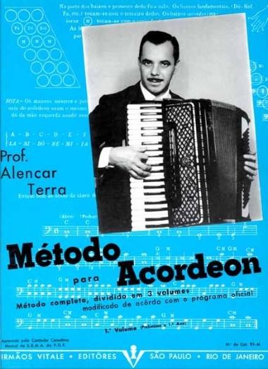 Método Acordeon Alencar Terra - Vol 1