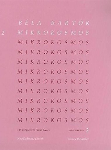 Método Bela Bartok Piano Mikrokosmos - Vol 2