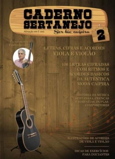 Método Caderno Sertanejo - Vol 2