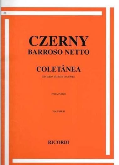 Método Czerny Coletâneas Barrozo Neto - Vol 2