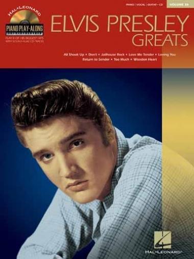 Método Elvis Presley Greats - Vol 36