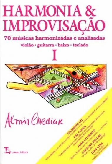Método Harmonia & Improvisação Almir Chediak - Vol 1