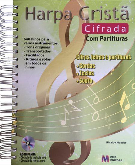 Método Harpa Cristã Cifrada Cifras e Partituras