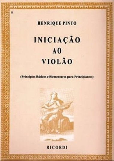Método Iniciação ao Violão Henrique Pinto - Vol 1