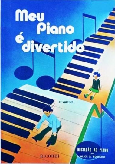 Método Meu Piano é Divertido - Vol 1
