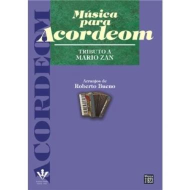 Método Música para Acordeon Tributo a Mário Zan