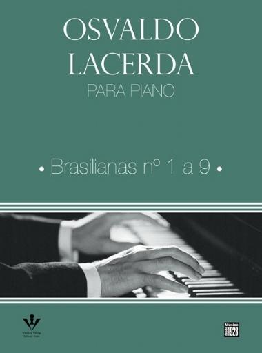 Método para Piano Osvaldo Lacerda Brasilianas nº 1 a 9