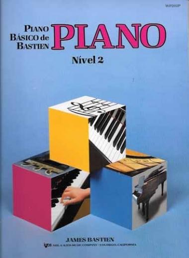 Método Piano Básico de Bastien - Nível 2