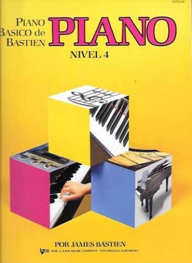 Método Piano Básico de Bastien - Nível 4