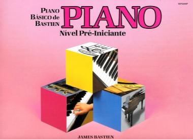 Método Piano Básico de Bastien Nível Pré Iniciante