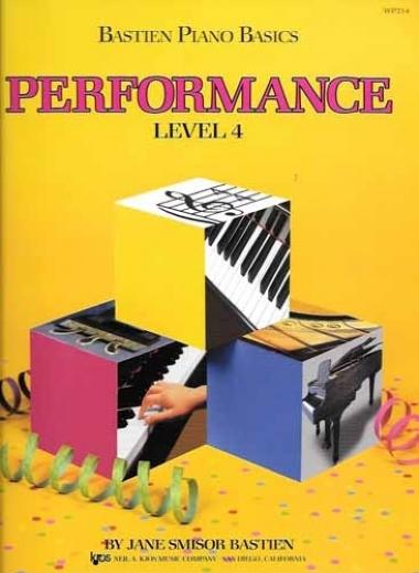 Método Piano Básico de Bastien Performance - Nível 4