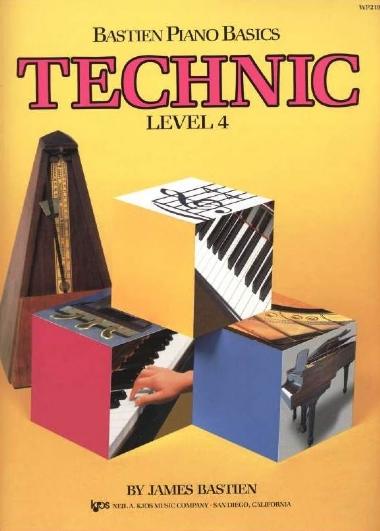 Método Piano Básico de Bastien Técnica - Nível 4