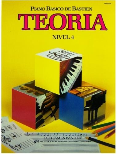 Método Piano Básico de Bastien Teoria - Nível 4