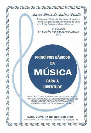 Método Princípios Básicos da Música para a Juventude