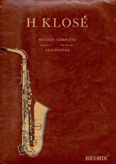 Método Sax Completo H. Klosé