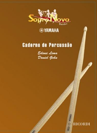 Método Sopro Novo Yamaha Caderno de Percussão