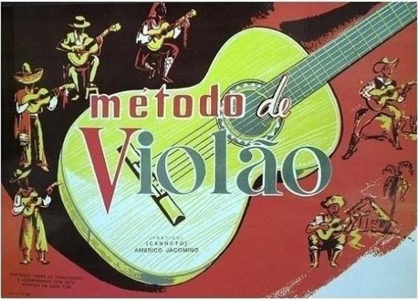 Método Violão Américo Jacomino
