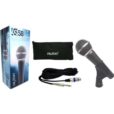 Microfone de Mão Le Son LS58