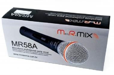 Microfone de Mão Mister Mix MR58A