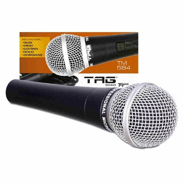 Microfone de Mão Tagima Tag Sound TM584