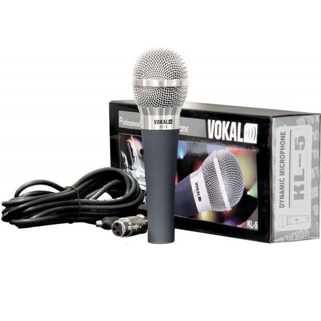 Microfone de Mão Vokal KL-5