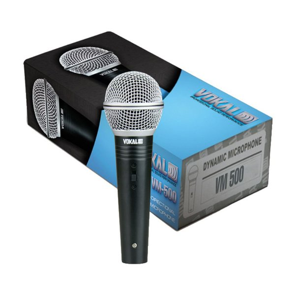 Microfone de Mão Vokal VM-500