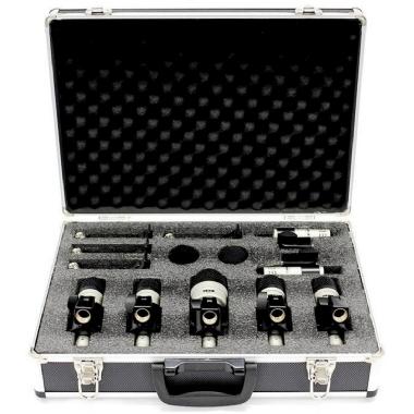 Kit Microfone para Bateria Vokal VDM7 com Clamp