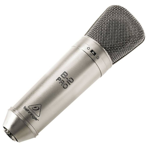 Microfone para Estúdio Behringer B-2 Pro
