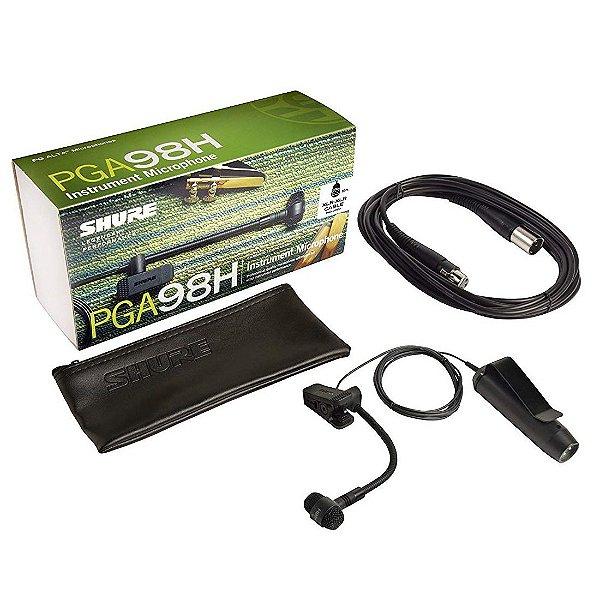 Microfone para Instrumentos Shure PGA98H XLR