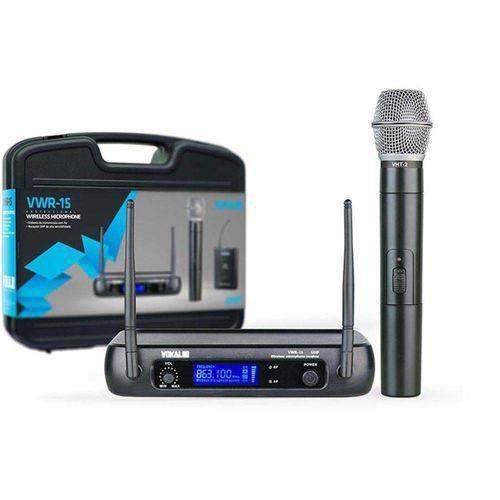 Microfone sem Fio de Mão Vokal VWR15