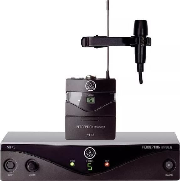 Microfone sem Fio Lapela AKG Perception PW45