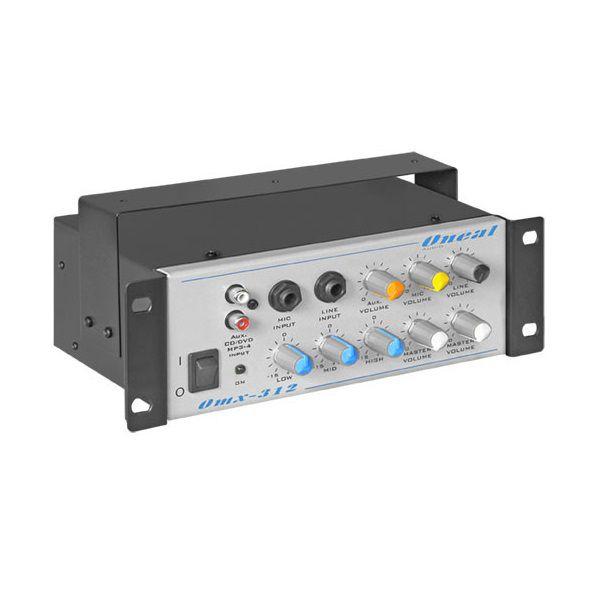 Mixer Automotivo Oneal Compact Line 3 Canais OMX312