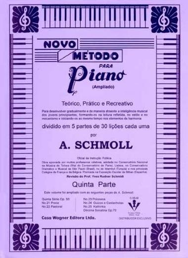 Método Novo para Piano A. Schmoll - Vol 5