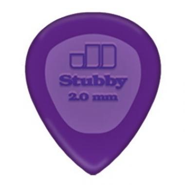 Palheta Dunlop Big Stubby (unidade)