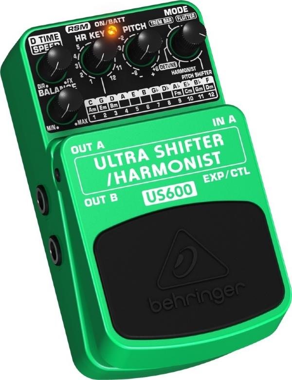 Pedal de Efeitos Behringer Ultra Shifter Harmonist US600