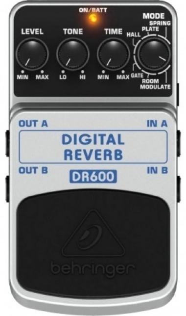 Pedal Digital Reverb Behringer DR600