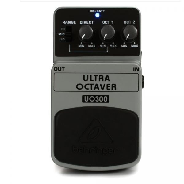Pedal para Baixo / Guitarra Behringer Ultra Octaver UO300